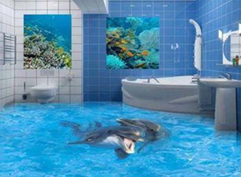 Наливные полы для ванной комнаты своими руками
